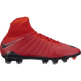 Nike Bambino Hypervenom Phantom 3 Df Fg Red/Black