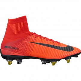 Nike Scarpa Mercurial Superfly Sgpro Red/White