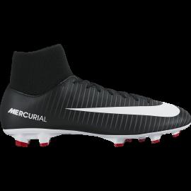 Nike Scarpa Mercurial Victory VI Df Fg Nero/Bianco