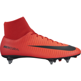 Nike Scarpa Mercurial Victory VI Df Sg Red/White