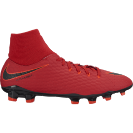 Nike Scarpa Hypervenom Phelon 3 Df Fg Red/Black