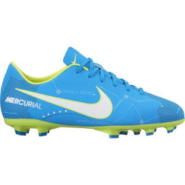 Nike Bambino Mercurial Victory VI Njr Fg Azzurro/Bianco