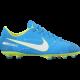 Nike Scarpa JrMercurial Victory VI Njr Fg Azzurro/Bianco