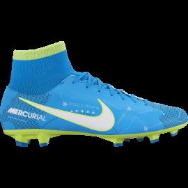 Nike Scarpa Mercurial Njr Df Fg Azzurro/Bianco
