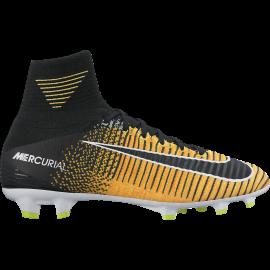 Nike Scarpa Jr Mercurial Superfly V Df Fg Giallo/Nero