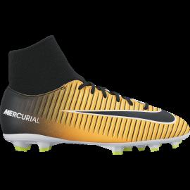Nike Scarpa Jr Mercurial Victory Vi Df Fg Giallo/Nero