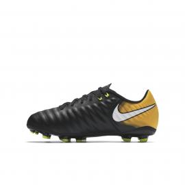 Nike Scarpa Jr Tiempo Ligera IV Fg Giallo/Bianco