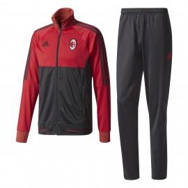Adidas Tuta Ac Milan Pes  Rosso/Nero