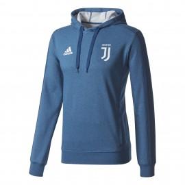 Adidas Felpa C/Capp Juve  Royal/Bianco