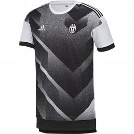 Adidas T-Shirt Mm Juve H Pre Mach  Bianco/Nero