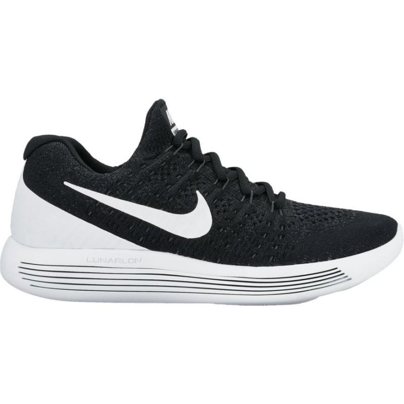 Nike Scarpa Lunarepic Low Flyknit 2 Black/White
