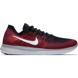 Nike Scarpa Free Rn Flyknit 2 Black/Pure Platinum