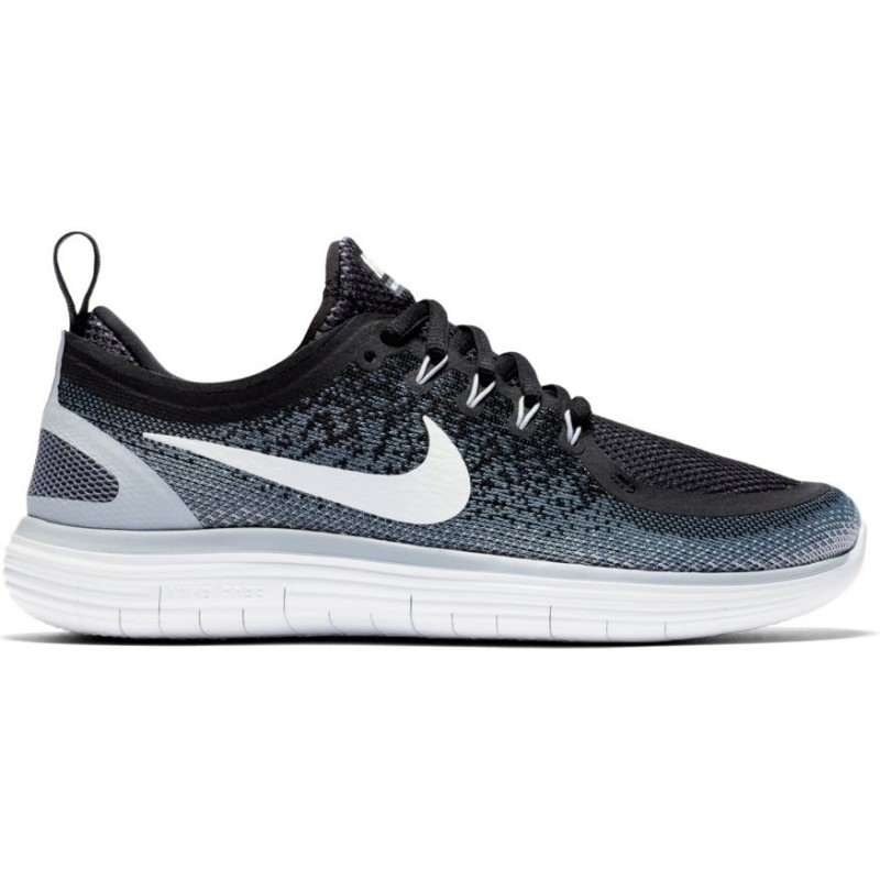 Nike Scarpa Donna Free Run Distance 2 Nero/Bianco