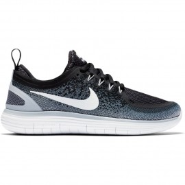 Nike Scarpa Donna Free Run Distance 2 Nero/Bianco