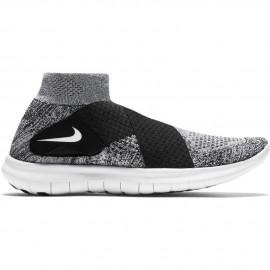 Nike Scarpa Donna Free Rn Motion Flyknit Black/White