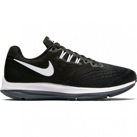 Nike Scarpa Donna Zoom Winflo 4 Black/White