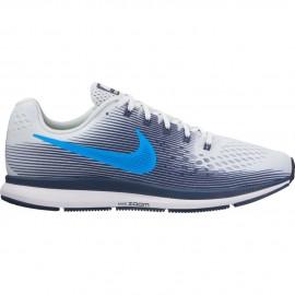 Nike Scarpa Air Zoom Pegasus 34 Pure Platinum/Photo Blue