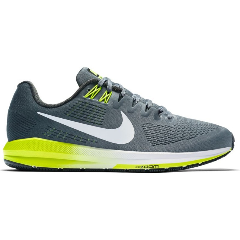 Nike Scarpa Air Zoom Structure 21 Cool Grey/White