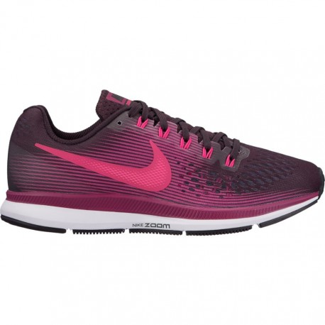 Nike Scarpa Donna Air Zoom Pegasus 34 Port Wine/Deadly Pink