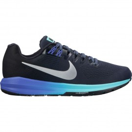 Nike Scarpa Donna Air Zoom Structure 21 Thunder Blue/Metallic