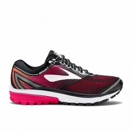 Brooks Scarpa Donna Ghost 10 Black/Pink Peacock