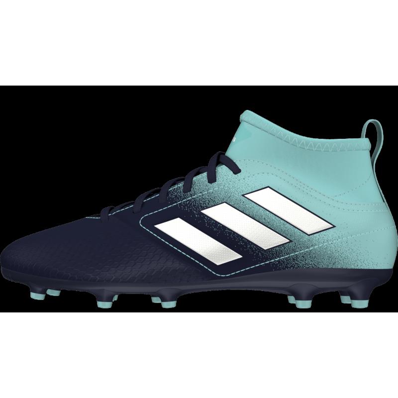 Adidas Scarpa Junior Ace 17.3 Fg Azzurro/Nero/Bianco