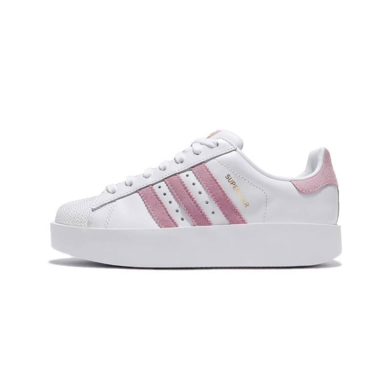 Adidas Superstar Bold Donna Bianco/Rosa