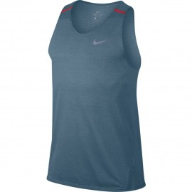 Nike Canotta Mm Rn Brthe Talwind Cool    Armory Blue/Htr