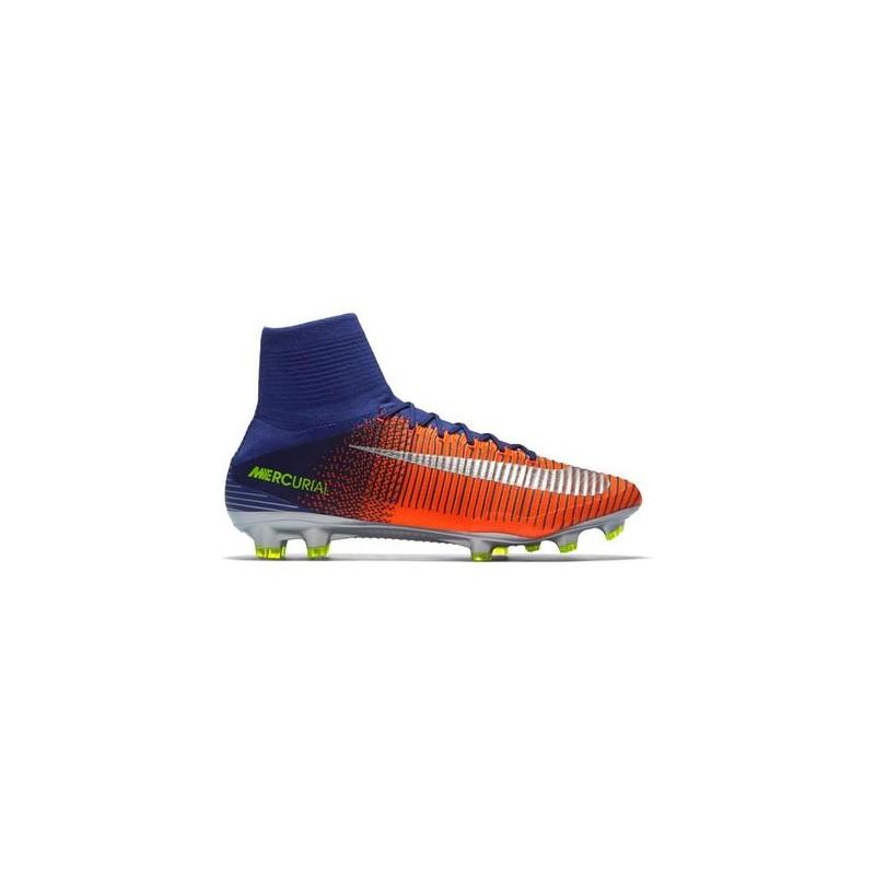 Nike Mercurial Superfly V Fg Blue/Reflective