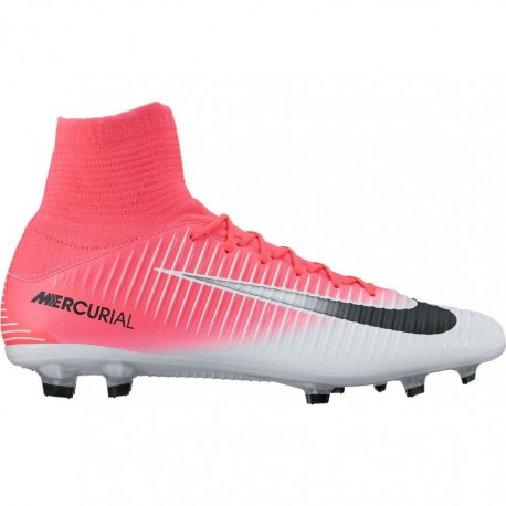 Nike Mercurial Veloce III Df Fg Grigio/Rosa