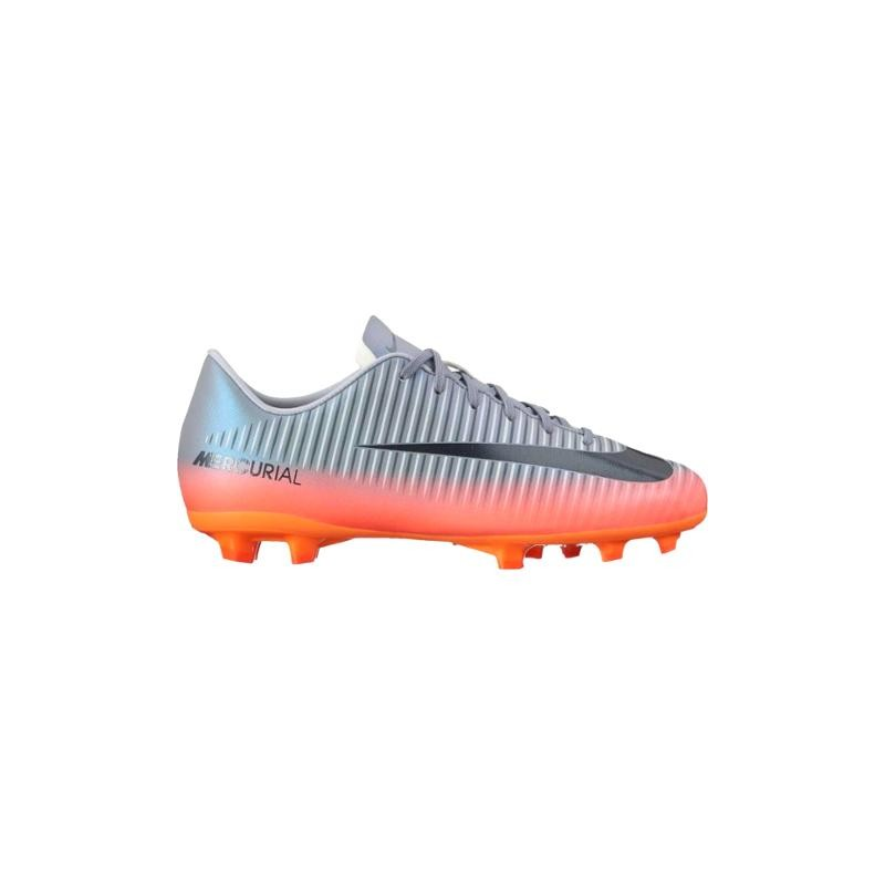 Nike Mercurialx Victory 6 Cr7 Tf Silver/Nero Junior