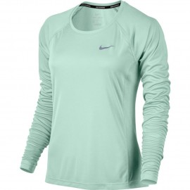 Nike T-Shirt Donna  Ml Rn Dry Miler    Igloo