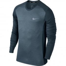 Nike T-Shirt Ml Run Dry Miler    Armory Blue