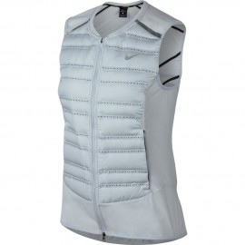 Nike Vest Donna  Run Arolft    Pure Platinum