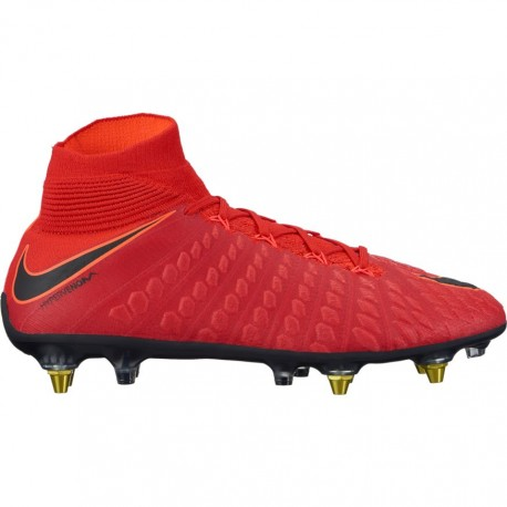 Nike Scarpa Hypervenom Phantom 3 Df Sgpro Red/Black