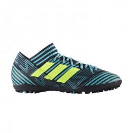 Adidas Scarpa Nemeziz Tango 17.3 Tf Nero/Azzurro/Giallo