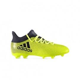 Adidas Scarpa Jr X 17.1 Fg Giallo/Nero