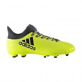 Adidas Scarpa Jr X 17.3 Fg Giallo/Nero