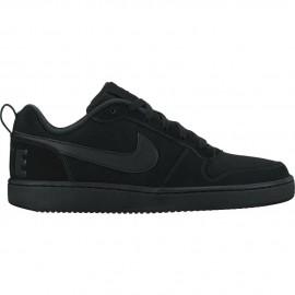 Nike Scarpa Court Borough Low Nero/Nero