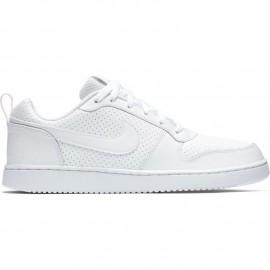 Nike Court Borough Low White/White