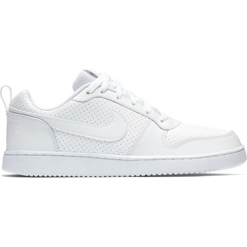 Nike Scarpa Court Borough Low White/White