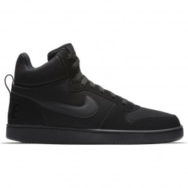 Nike Scarpa Court Borough Mid Nero/Nero