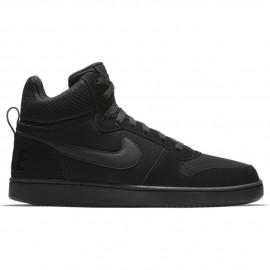 Nike Scarpa Court Borough Mid Nero/Nero