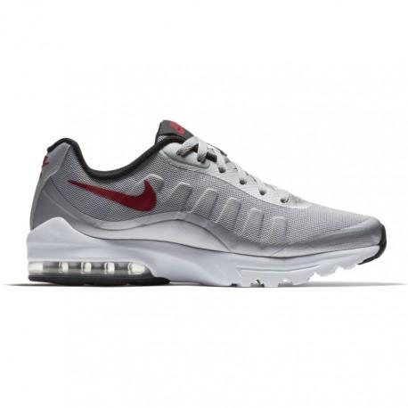 Nike Scarpa Air Max Invigor Grigio/Rosso