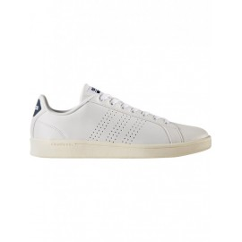 Adidas Scarpa Cloudfoam Advantage Clean Bianco/Navy