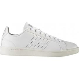 Adidas Scarpa Donna Cf Advantage Cl Bianco/Silver