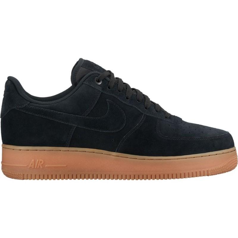 Nike Scarpa Air Force1 07 Lv8 Suede Nero
