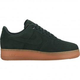 Nike Scarpa Air Force1 07 Lv8 Suede Verde