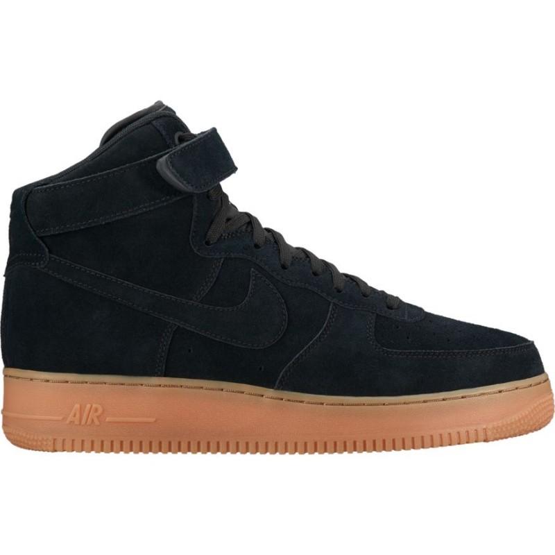 Nike Scarpa Air Force High 07 Lv8 Suede Nero