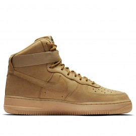 Nike Scarpa Air Force High 07 Lv8 Wb Giallo